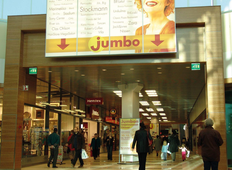 Jumbo Kauppakeskus Vantaa Elam